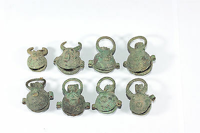 Very Rare 8 Ancient Bronze Buffalo BELL Prehistoric BAN CHIANG Culture Don't Mis
