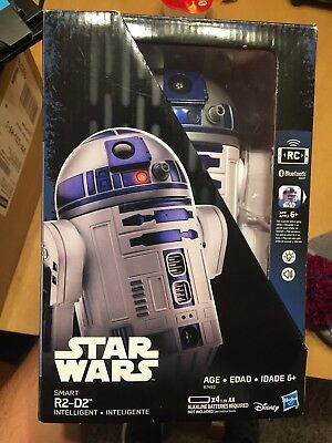 Star Wars Walmart Exclusive Smart App Enabled R2-D2 New In Box Free Shipping