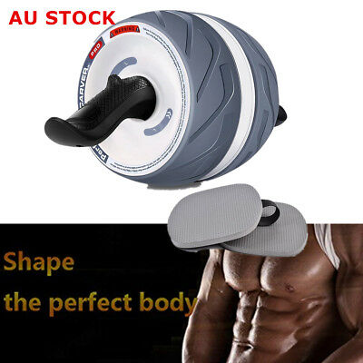 Fitness Ab Carver Pro Roller Exercise Six Pack Abs Workout Non-Slip Gym Tool