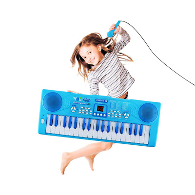 Sanmersen Kids Piano Keyboard 37 Key Multi-function Portable Electronic Digital