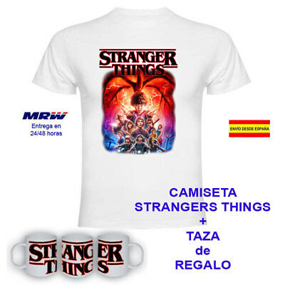Camiseta Stranger Things Personajes