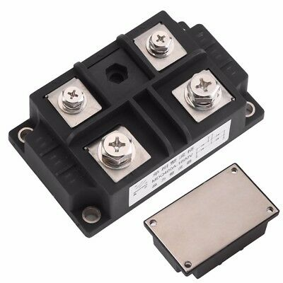 MDQ 400A Single-Phase Diode Bridge Rectifier 400A Amp 1600V Voltage Power Black