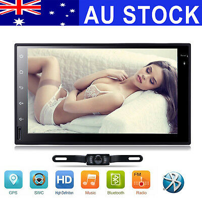Android 7.1 Double 2 Din Car MP3 Player Radio Stereo Head Unit GPS SAT NAV DAB+