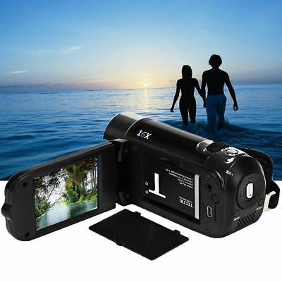 Full HD 1080P 16M 8X Digital Zoom Video Recorder Camcorder DV Camera Cam Lot