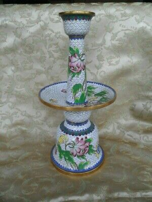 Vintage Cloisonné Candle Holder - Make an Offer