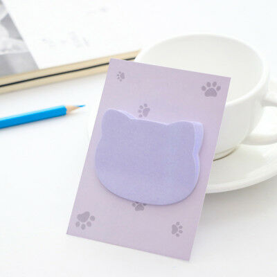 5pcs/lot Cartoon Cat Sticky Note Memo Pad Planner Note Pad Kawaii Stationery