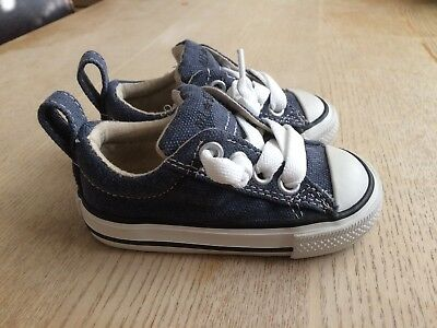 Baby Converse Pumps, Navy, Size 4, New