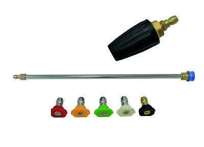 Pressure Washer Lance Extension Turbo & Quick Release Nozzles Size 06