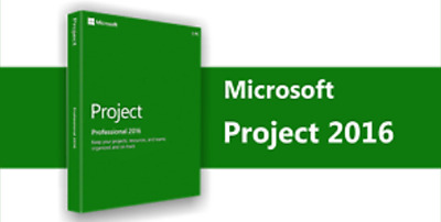 Microsoft Project Professional 2016 for 1 User Digital License