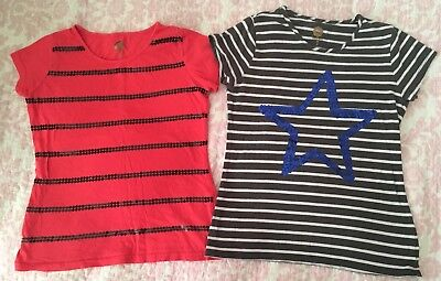 2 Girls Size 8 Total Girl  School Tops Shirts