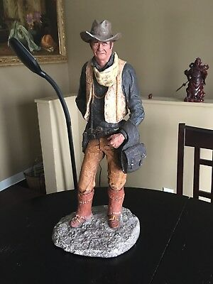 John Wayne Sculpture By Daniel R Monfort
