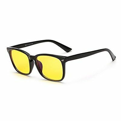 Blue Light Filter [Anti Eye Strain] UV Block Computer Gaming Glasses Sleep