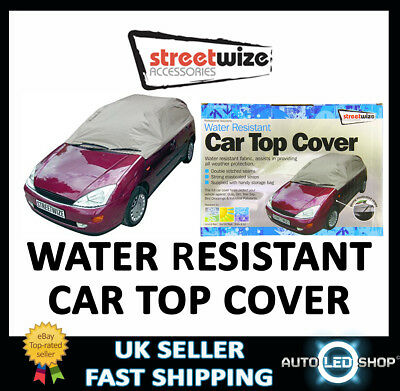 Streetwize SWCTCL Water Resistant Car Top Cover LARGE 17/ 19 ft