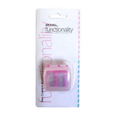 Royal Cosmetic Duo Pencil Sharpener -PINK-BOXED-NEW