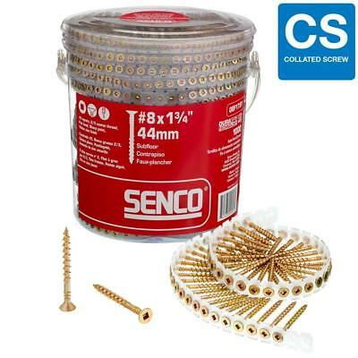 "Senco Screw Collated No.8x1-3/4 "" (1000-Pack)"
