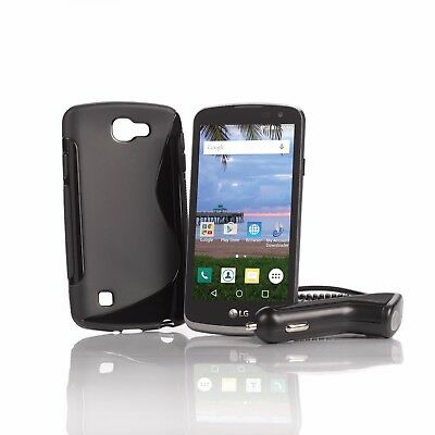 TracFone LG Rebel Prepaid Phone + 1 Year of Service (1200 Min/1200 Text/1200MB)