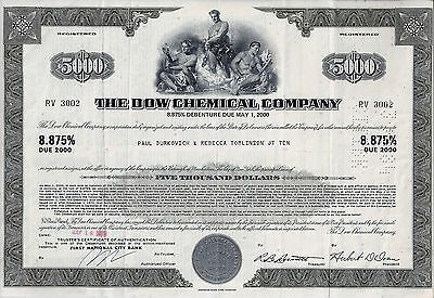 The Dow Chemical Company, 8,875% Debenture due May 2000, 197X (5.000 Dollar)