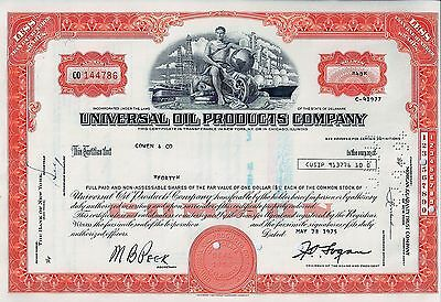 Universal Oil Products Company, 1975 (40 Shares)