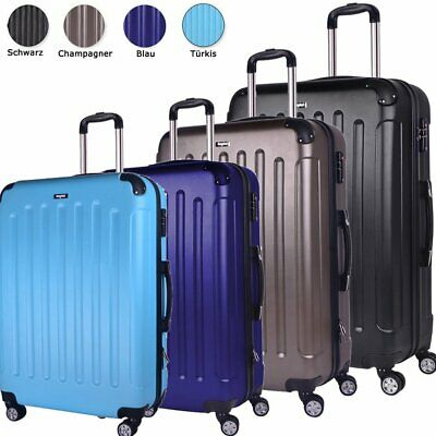 Hartschalen Reisekoffer Trolley M L XL SET Reise Koffer Case Tasche Trolly