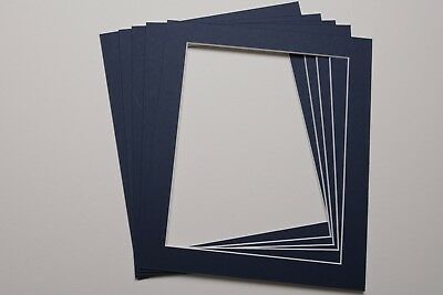 Pack Of 5 Photo Picture Mounts 12 X 10 Inch For 10 X 8 Print Choice Of Colours