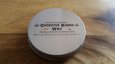 Chopping Board Wax Mineral Oil Organic Beeswax Butcher Block Conditioner