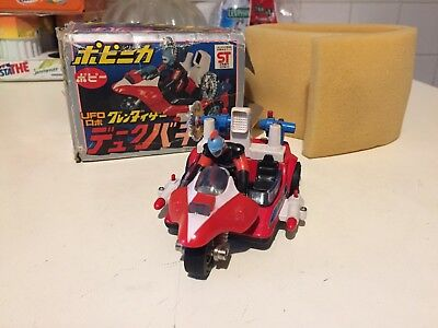 Popy Pa-62 Duke Buggy Actarus Goldrake Grendizer Made In Japan Boxed