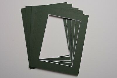 Pack Of 5 Photo Picture Mounts 9 X 7 Inch For 5 X 7 Print Choice Of Colours