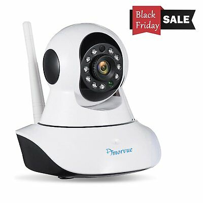 720p Wireless IP Camera Baby Pet Video Monitor Night Vision Two Way Audio