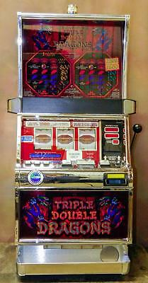 "Igt S-2000 Reel Slot Machine: ""triple Double Dragons"""