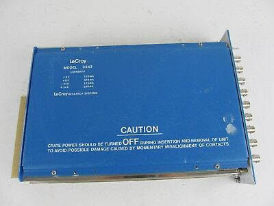 Lecroy 3542 8 Channel Mixer Router Plug In Card
