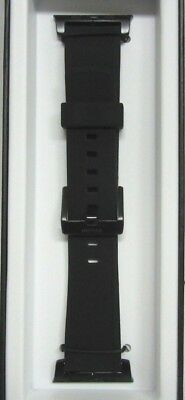 Nomad 42mm Silicone Strap for Apple Watch LSR Stainless Steel - Black