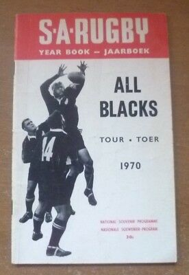 1970 - South African Rugby Yearbook.