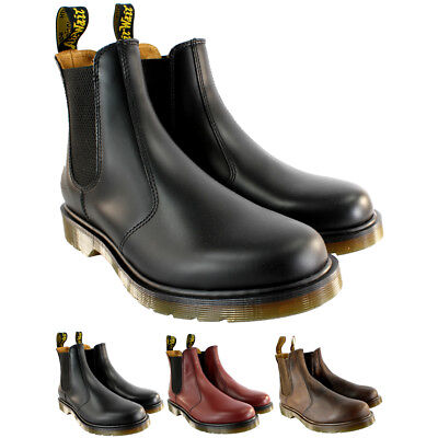26f9e0e3f50 MENS DR MARTENS 2976 Classic Chelsea Style Leather Ankle High Boot US Sizes  8-13
