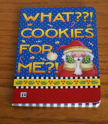 """Mary Engelbreit Christmnas Notebook Journal  """"WHAT??! COOKIES FOR ME?!""""  NEW!"""