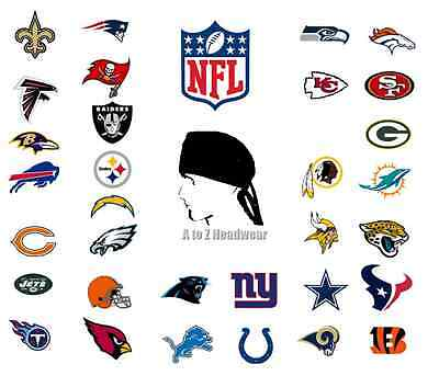 NFL Football Team Sport TRADITIONAL TIE BACK Unisex Surgical Scrub Cap Hat