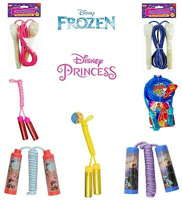 Girls Skipping Rope Frozen,Shimmer & Shine,Kids LightUp Color Changing Jump Rope