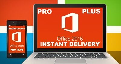 Microsoft Office 2016 Pro Plus License Product Key Code