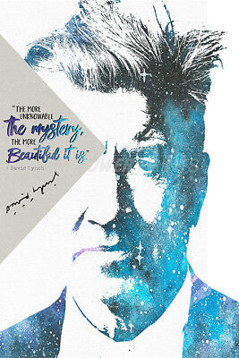 David Lynch Inspirational Quote Pre Signed Poster Print Photo - Twin Peaks