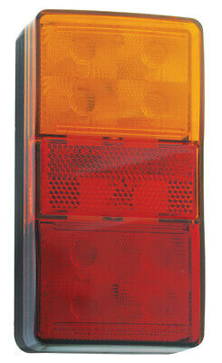 Truck And Trailer Stop/tail, Indicator & Reverse Led Lights