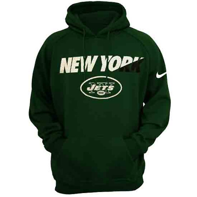 4a01adc6573 Nike NFL New York Jets ThermaFit Performance Ko Hoodie Men's S NWT$70