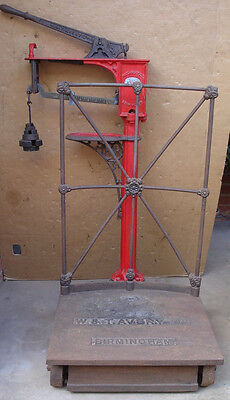 Antique Avery Platform Scales