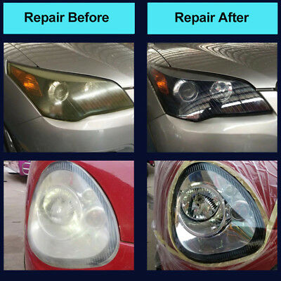 Headlight Cleaner Renewer Car Truck SUV Light Lens Restoration Polish Liquid Kit