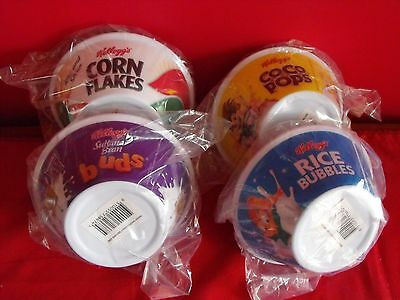 4 Kellogg's Limited Edition Cereal Bowls