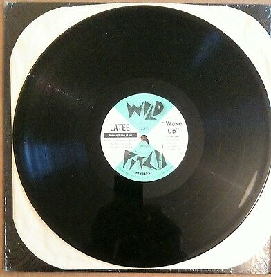 Latee ‎– No Tricks / Wake Up Wild Pitch Records WP1006 US 1988 RARE 6 TRACK 12""