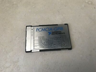 National Instruments PCMIA-GPIB Card