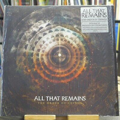 All That Remains - The Order Of Things / Doppel-LP ltd clear b-stock