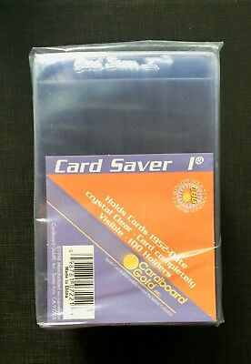 100 card saver 1 top loader sealed protectors psa/bgs graded card submission