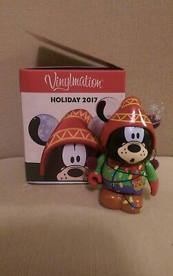 "Vinylmation 3"" Happy Holidays! Holiday 2017 Goofy Regular Eachez 9/10 !!!"