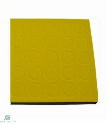 Sheet Self Adhesive Sticky CD/DVD Foam Holders/Dots/Studs Yellow (2000 Dots)