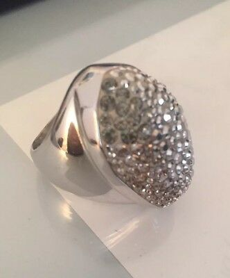 3ead0eafc AUTHENTIC SWAROVSKI CRYSTAL ring size 55 M - $100.00 | PicClick